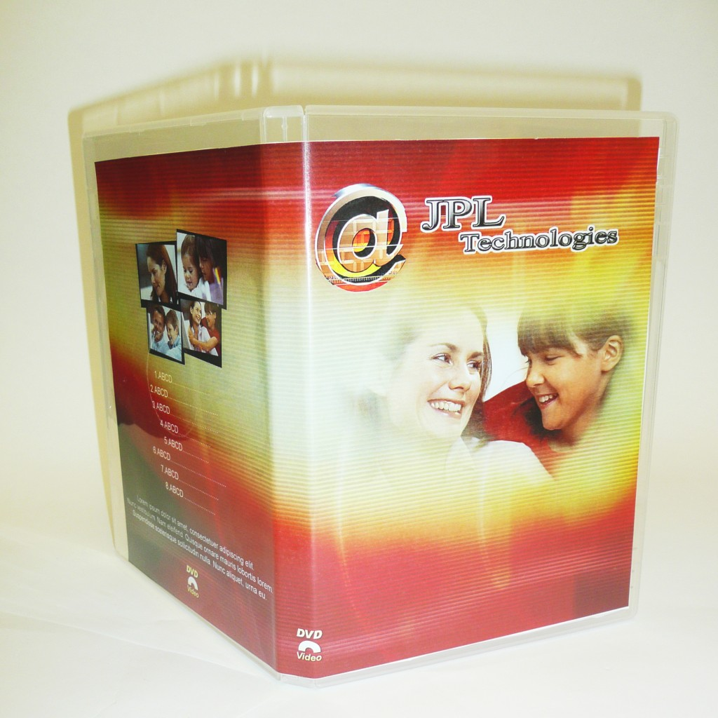 1000 DVD Case Covers