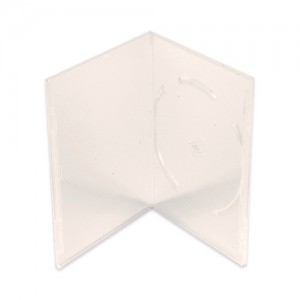 100 Clear 14mm Single DVD Cases