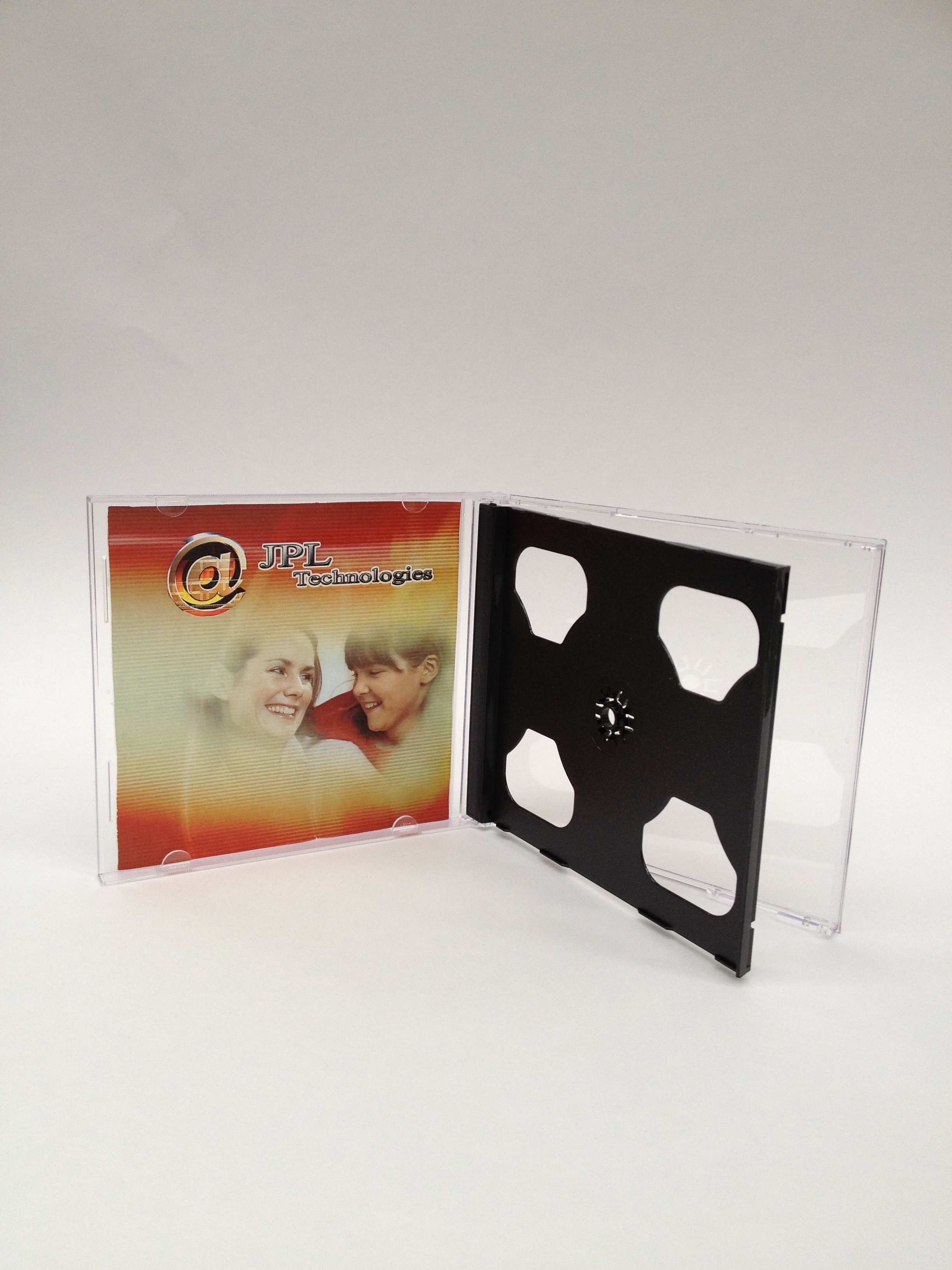 100 CD Black Double Jewel Cases
