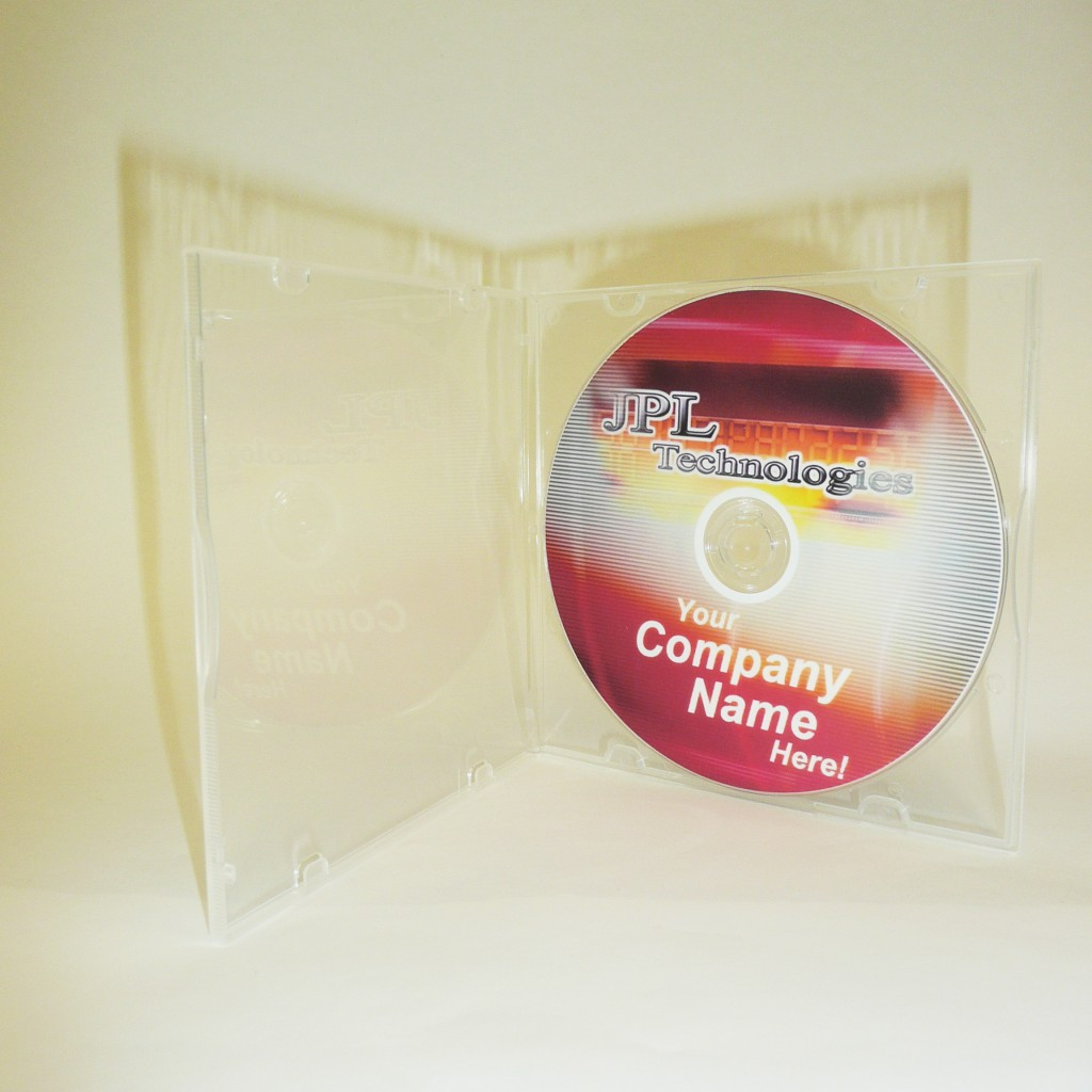 100 Mailer CD/DVD Clear Single 5mm Case
