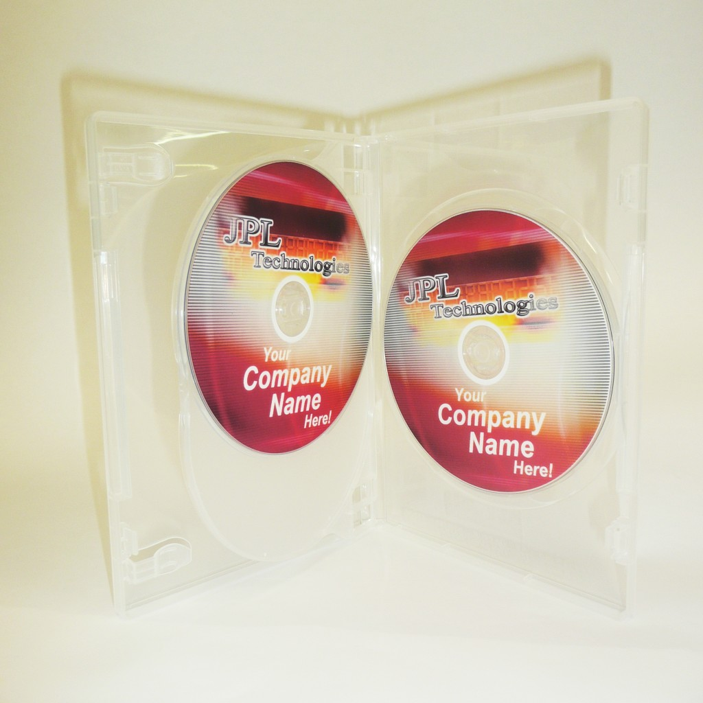 100 Triple Clear 14mm DVD Cases