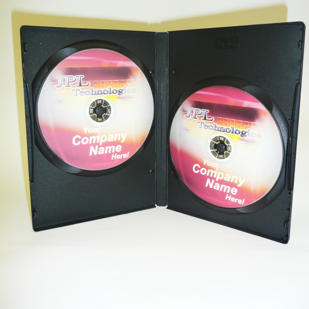100 Double Black 14mm DVD Cases