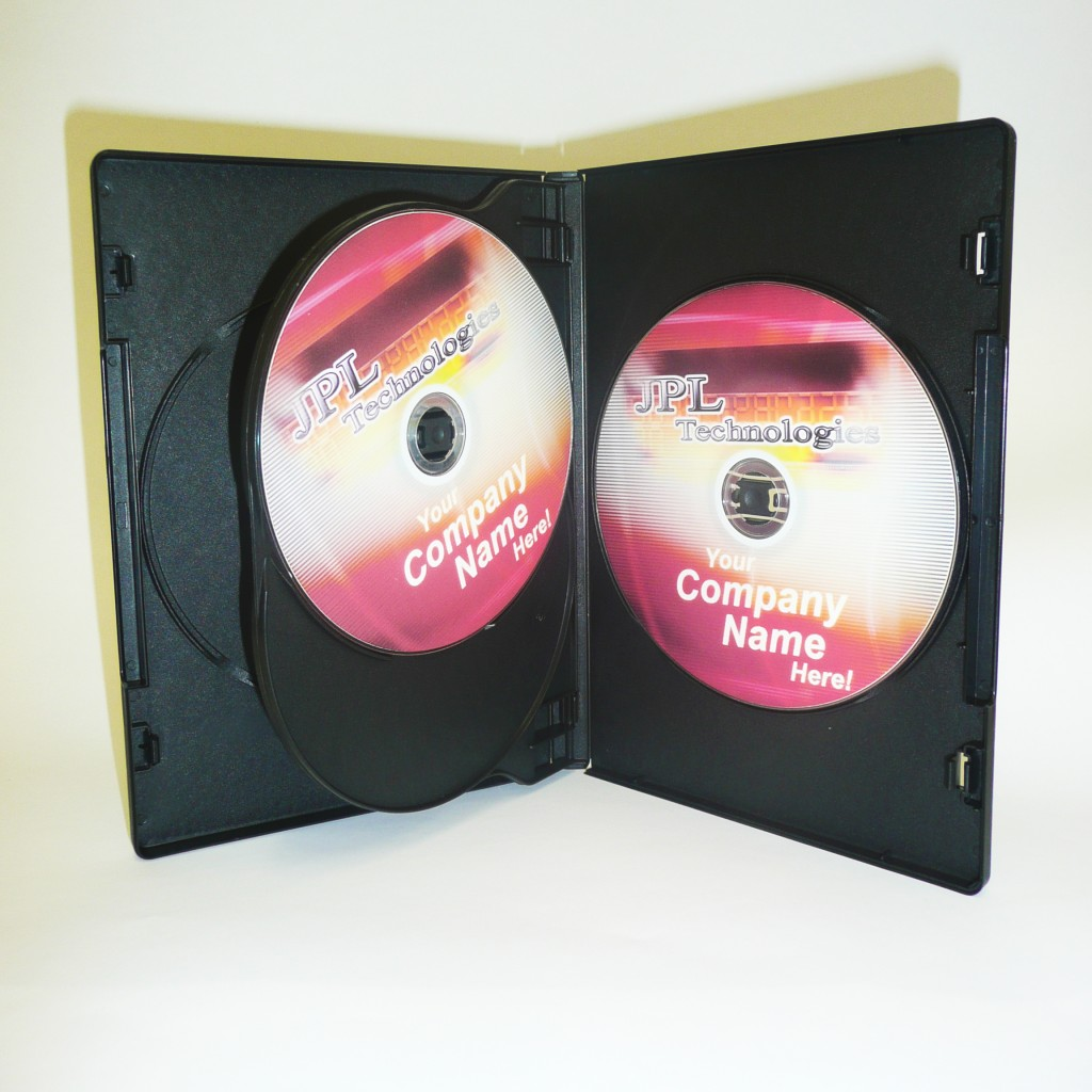 100 Four Black 14mm DVD Cases