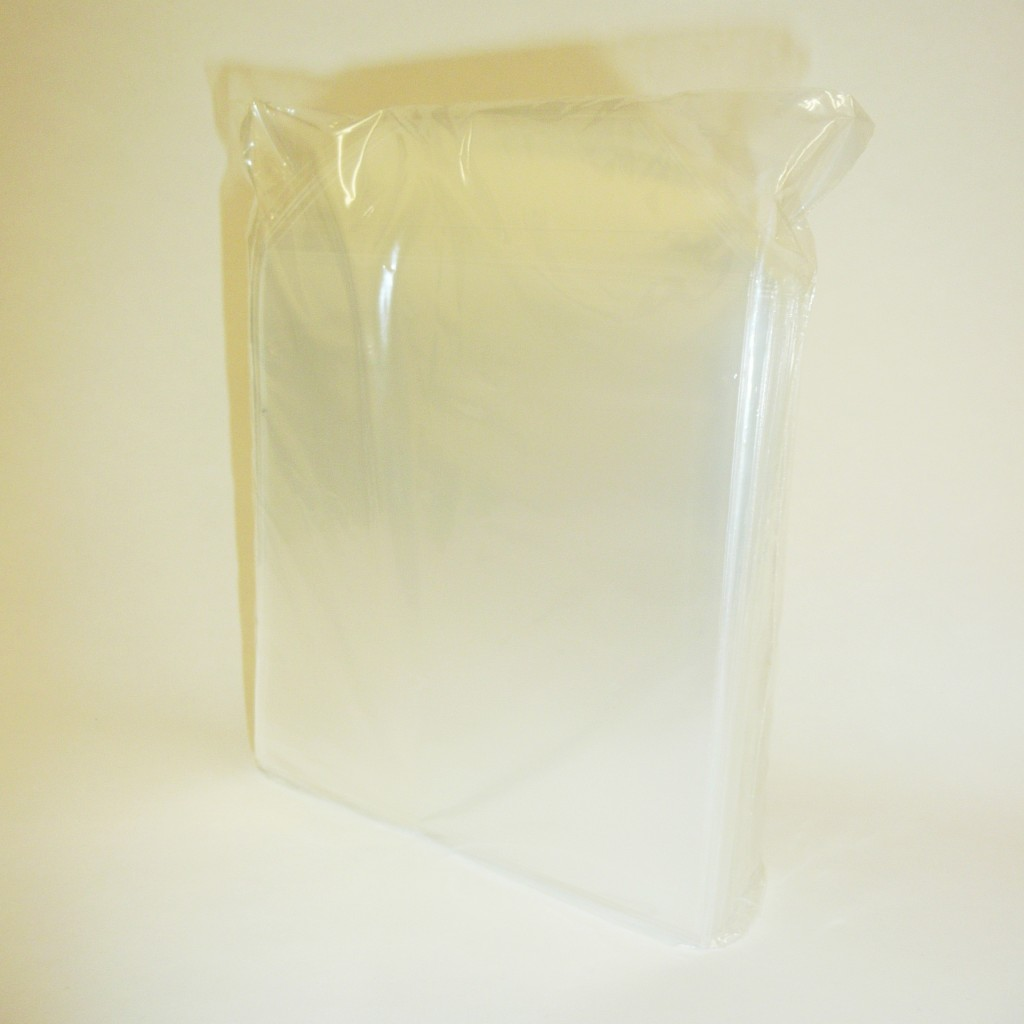 100 Clear Plastic Sleeves