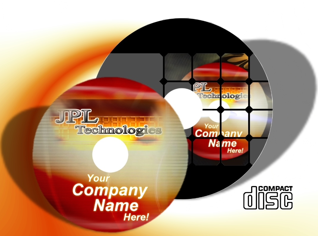 CD Printing Full Colour Disc Printing to Surface (2100 Blank CD Discs)