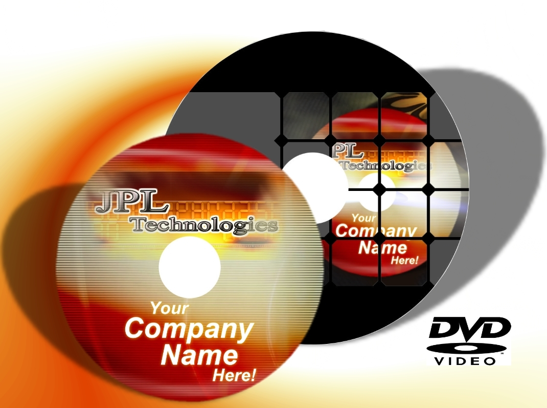 DVD Printing Full Colour Disc Printing to Surface (2100 Blank DVDs)